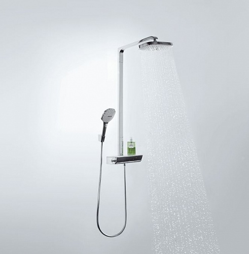 Raindance Select E 300 2jet Showerpipe, ½' 27128400
